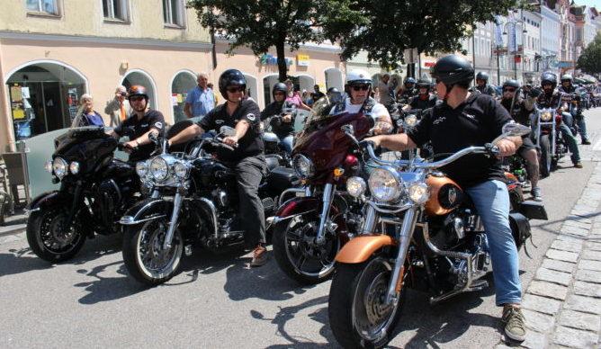 Harley Davidson Treffen - Brauhaus Haselbach - Tourismus